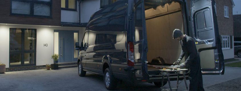 Ford Transit LED downlighter