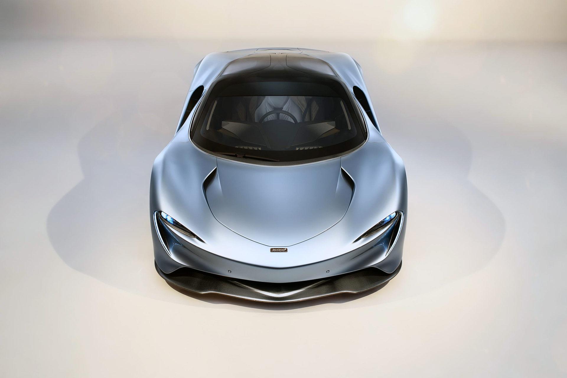 McLaren Speedtail Bespoke Design Collections