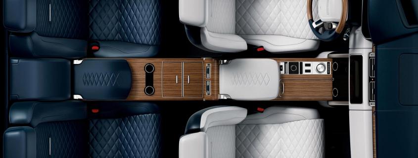 Range Rover SV Coupe Wins 2018 Interior Design Award