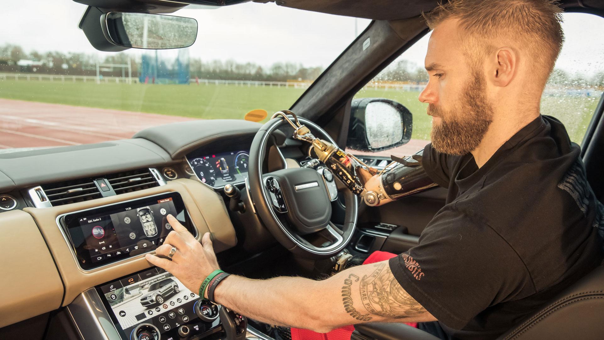 Range Rover Sport automatic door