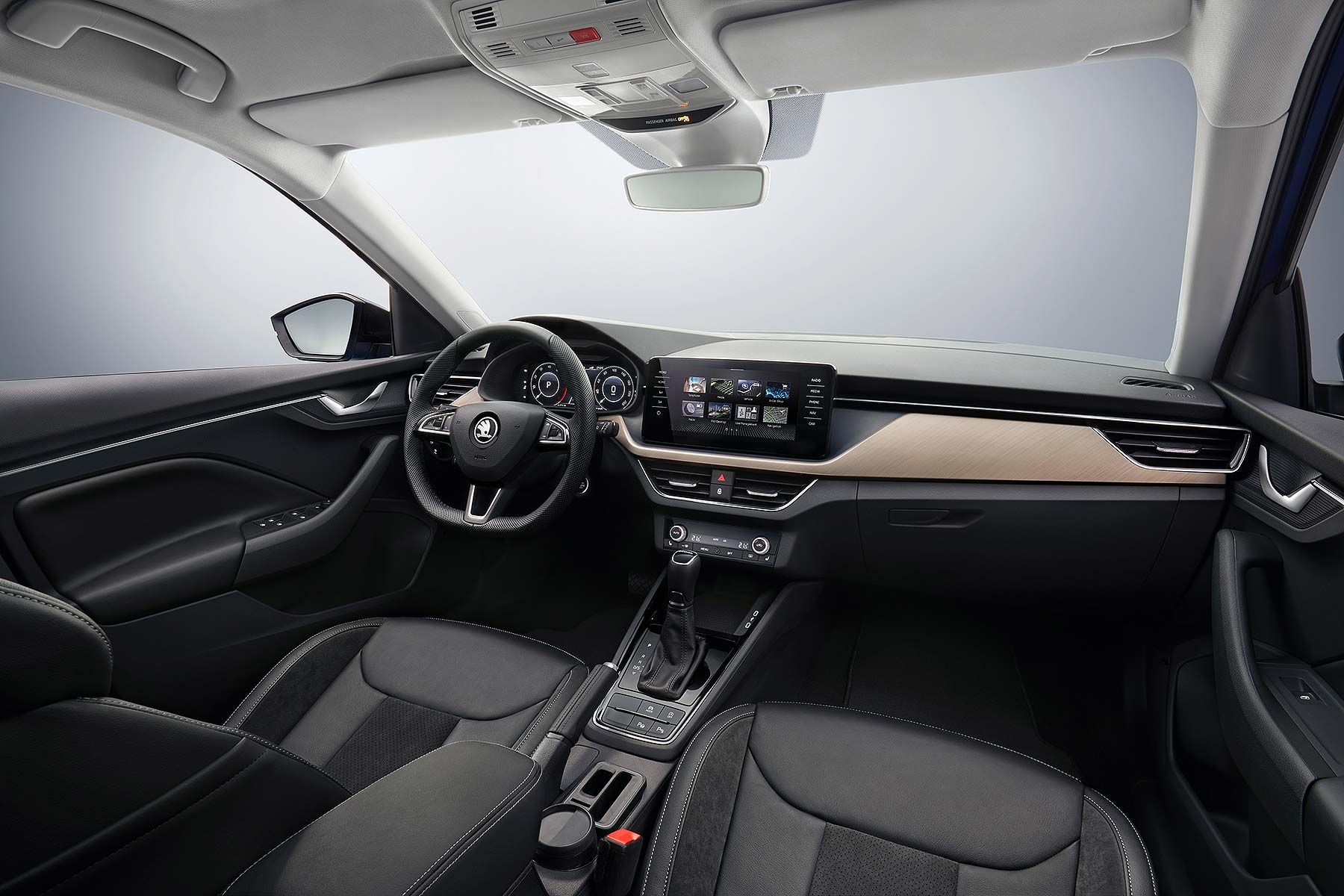 Skoda Scala Interior Revealed Ahead Of Full Debut On 6 December