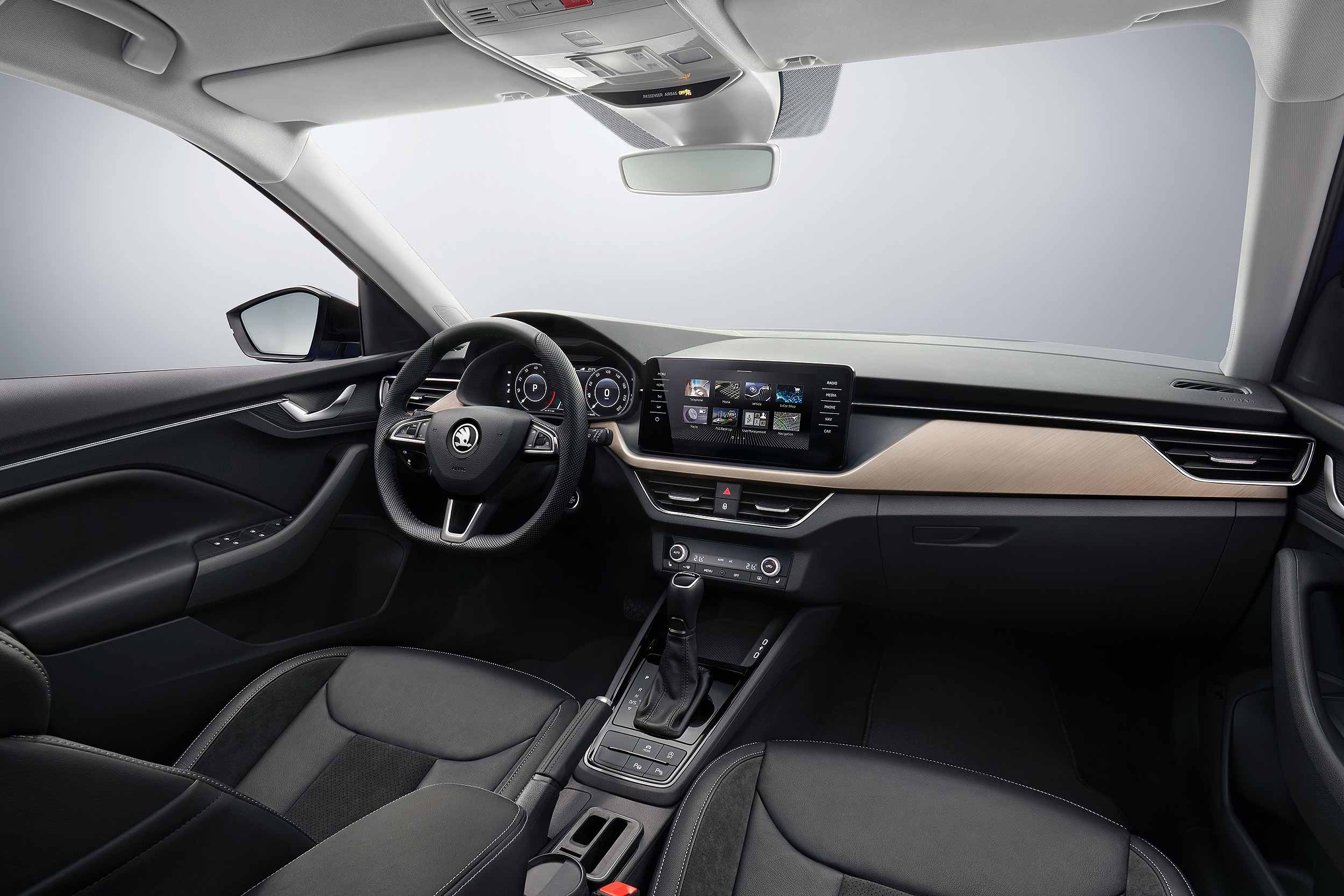 2019 Skoda Scala dashboard