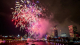 Central London fireworks
