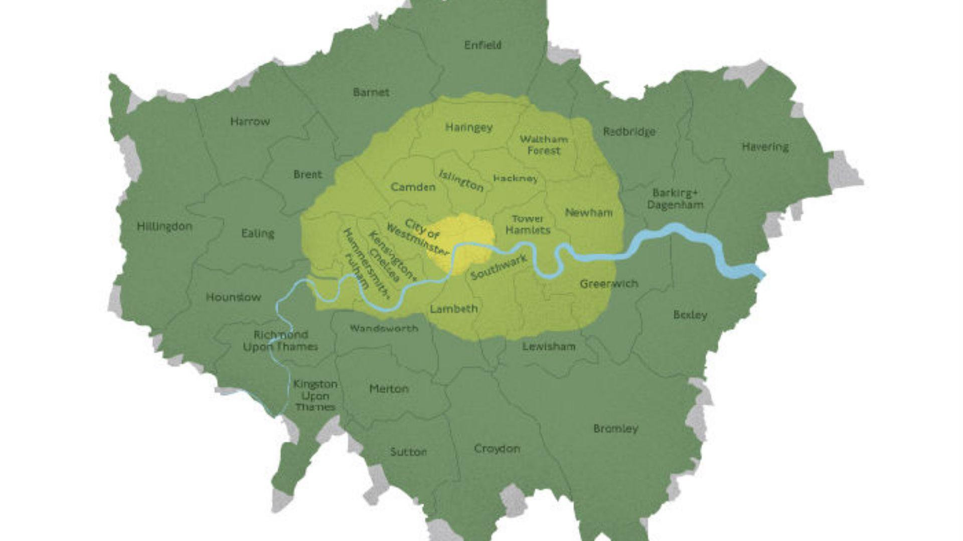 Ultra Low Emissions Zone ULEZ London 2019