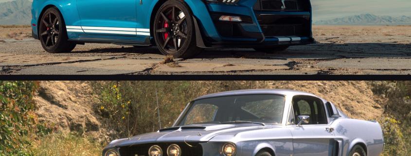 8c7916d1d1 ... 2020 Shelby GT500 vs 1967 Shelby GT500. GT500 Head-to-Head
