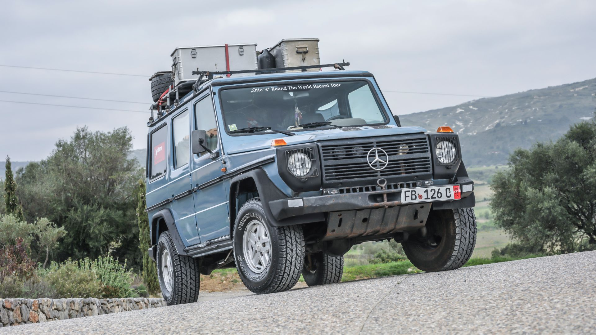 Celebrating 40 years of the G-Wagen