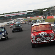 Minis at Silverstone Classic