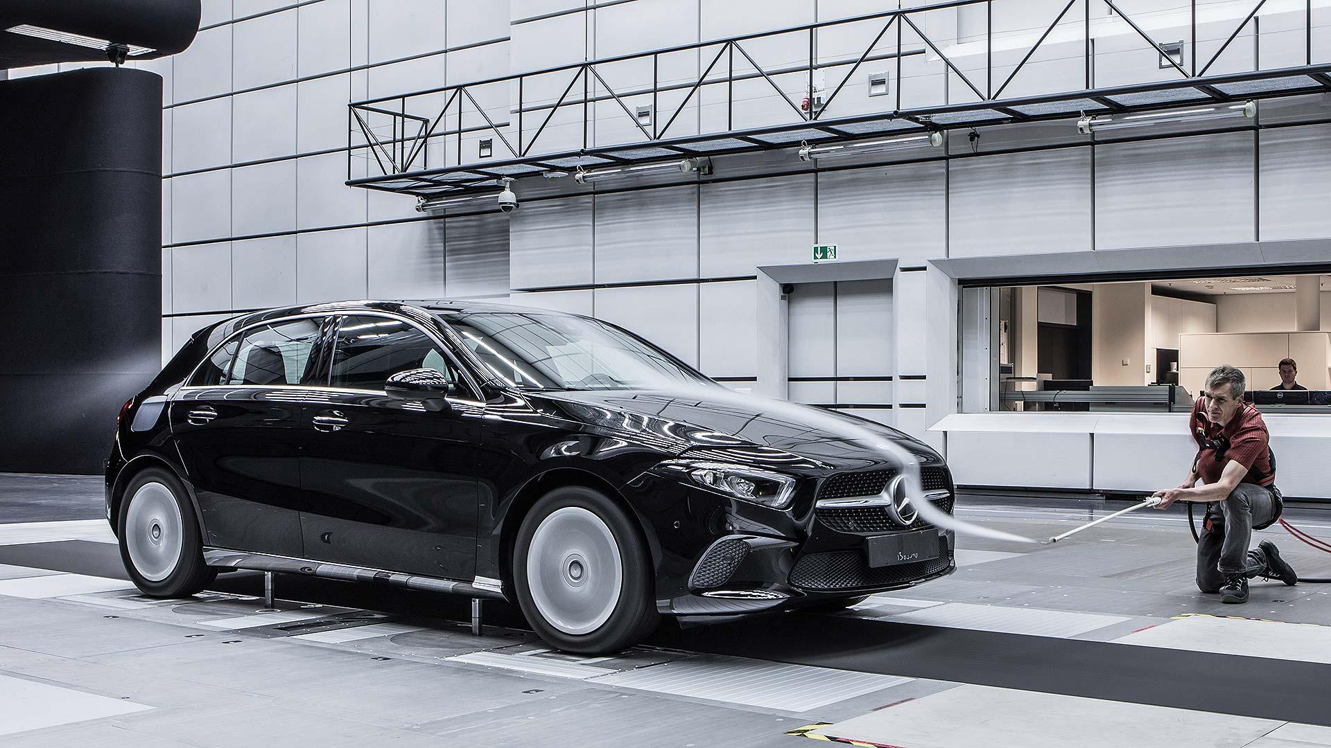 Black Mercedes-Benz A-Class
