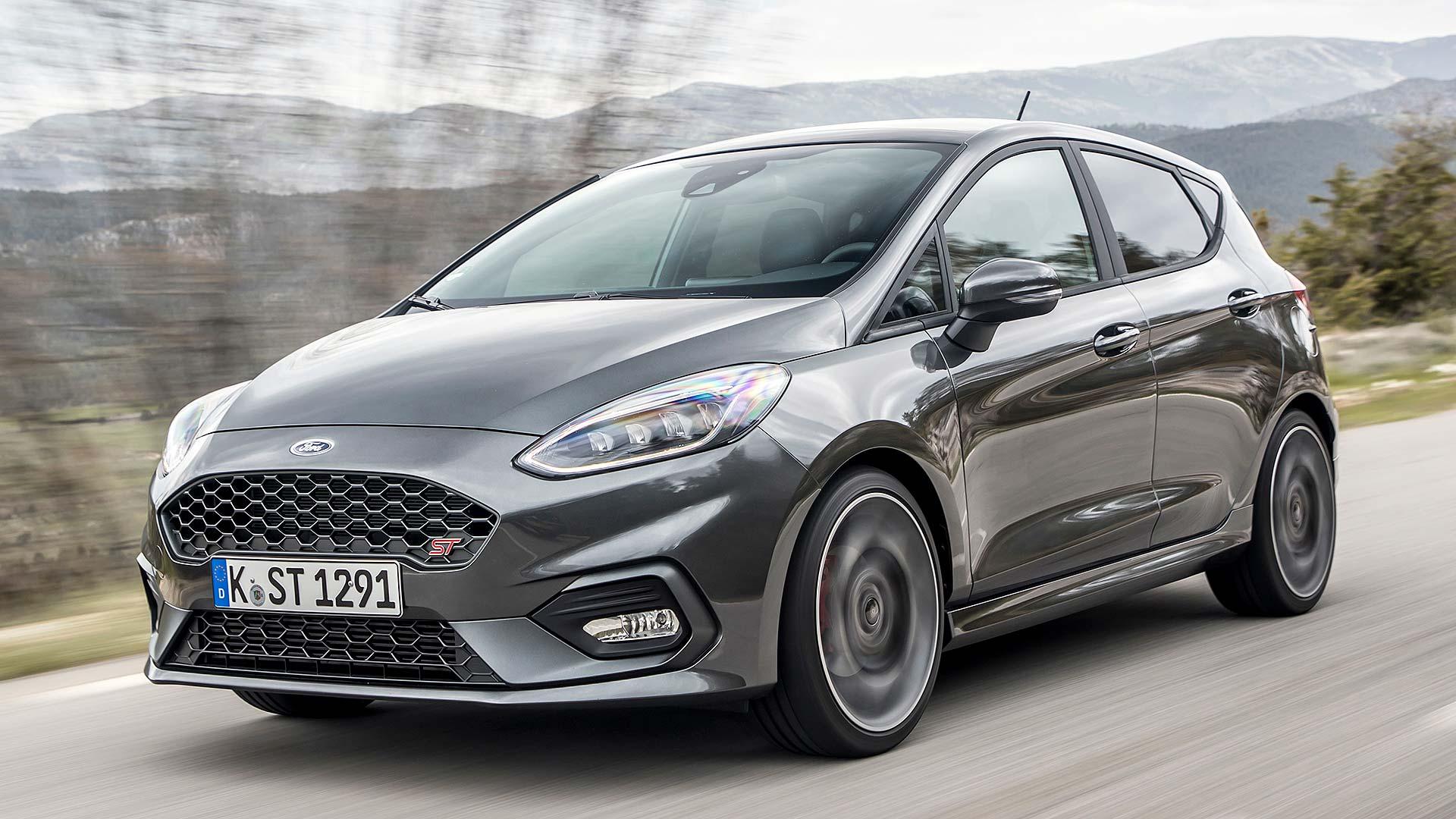 Grey Ford Fiesta