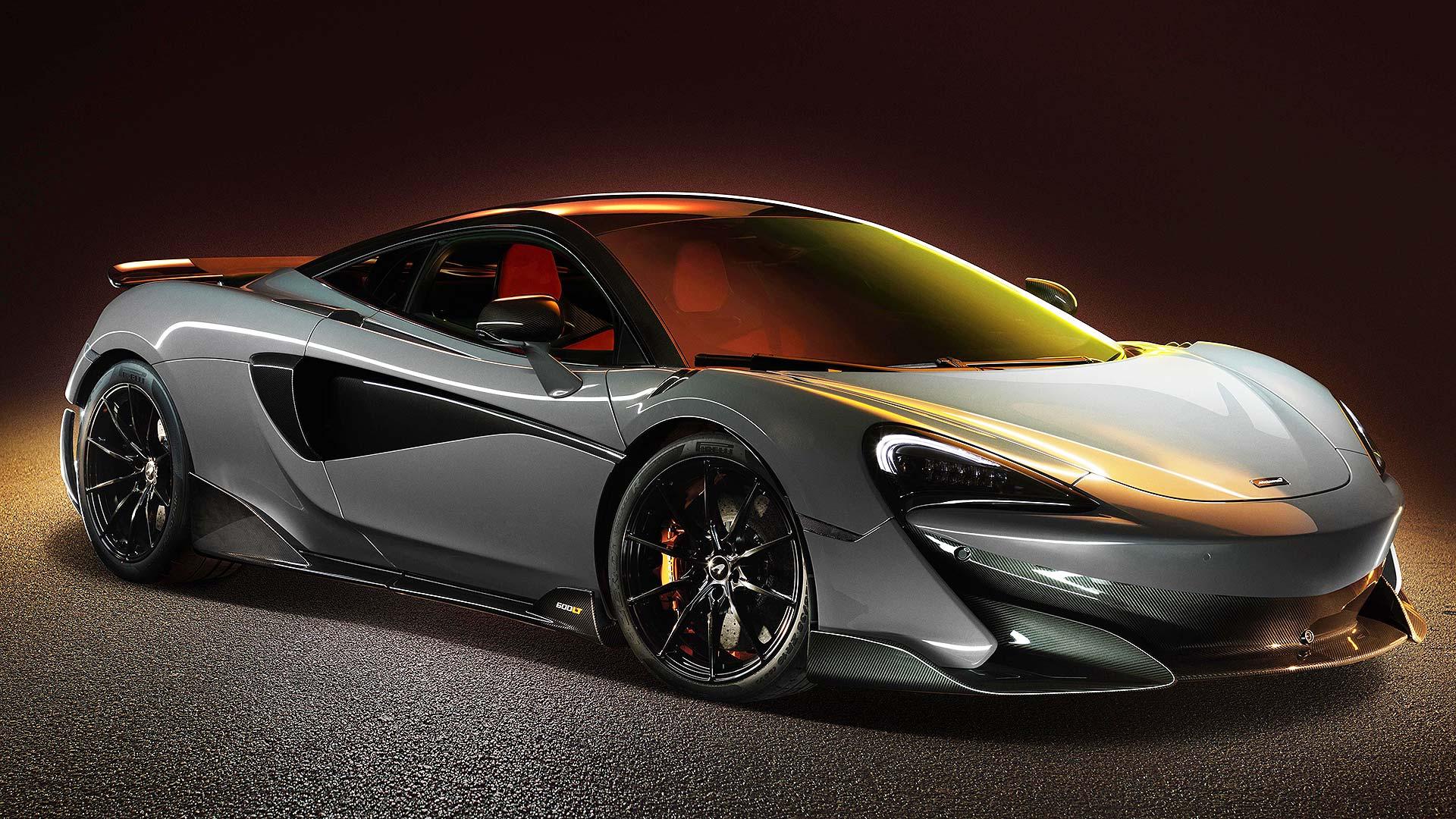 Grey McLaren 600LT