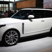 Range Rover SV Coupe dead