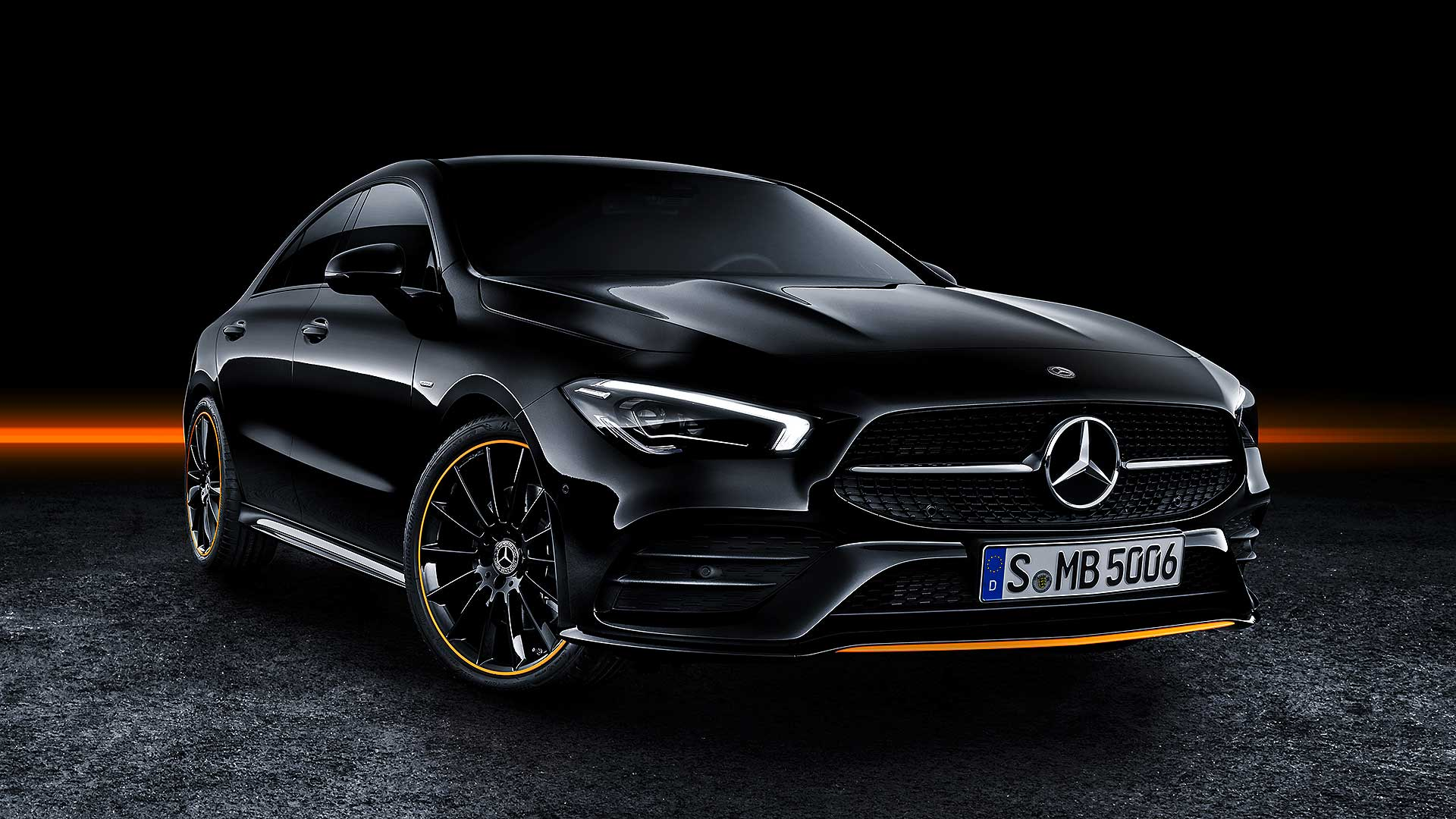2019 mercedes benz cla revealed at las vegas tech show. Black Bedroom Furniture Sets. Home Design Ideas