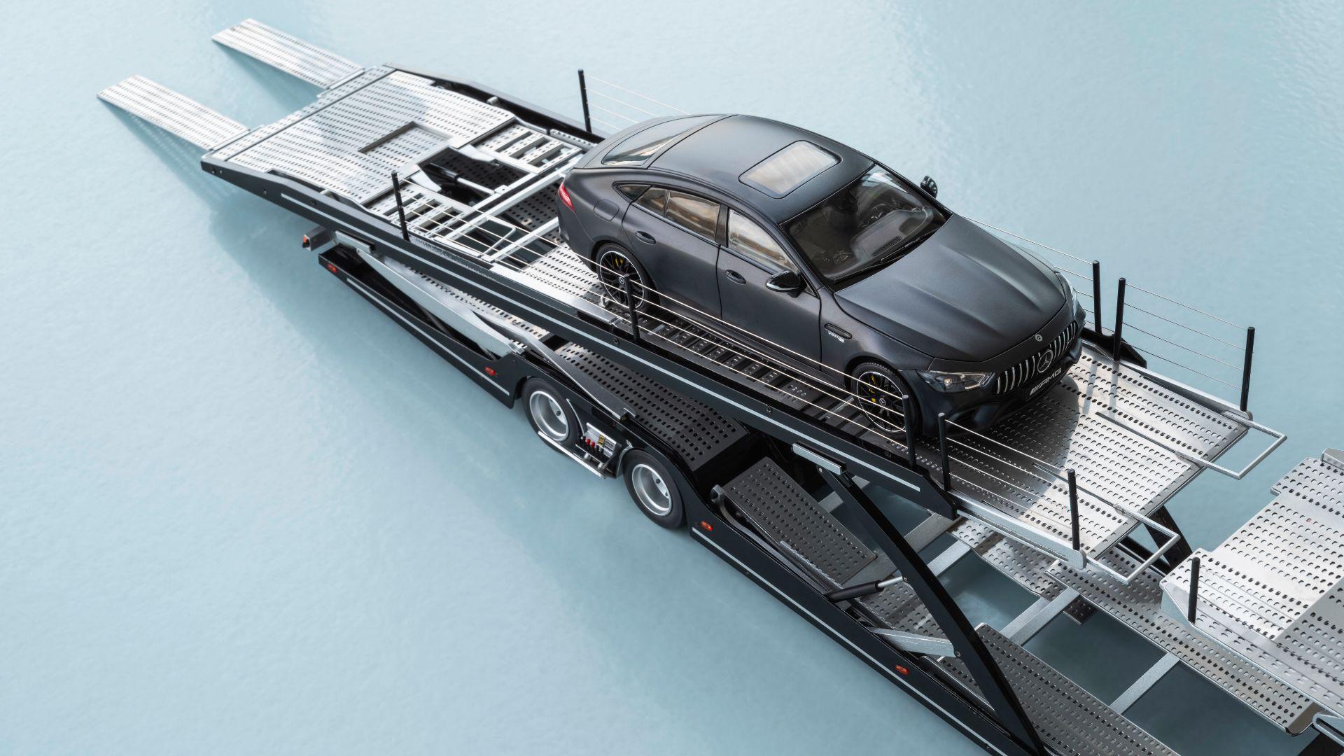 Mercedes Actross model truck