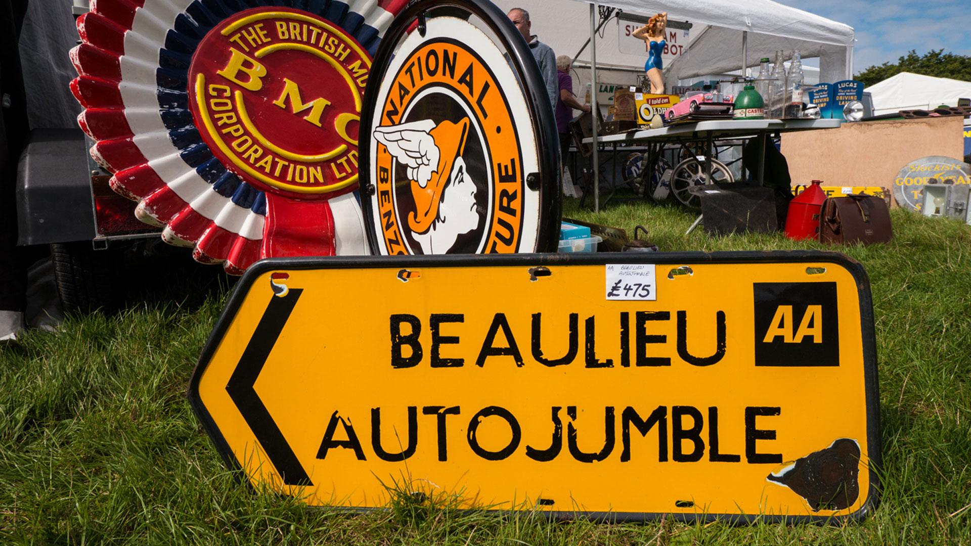 Beaulieu International Autojumble – 7-8 September