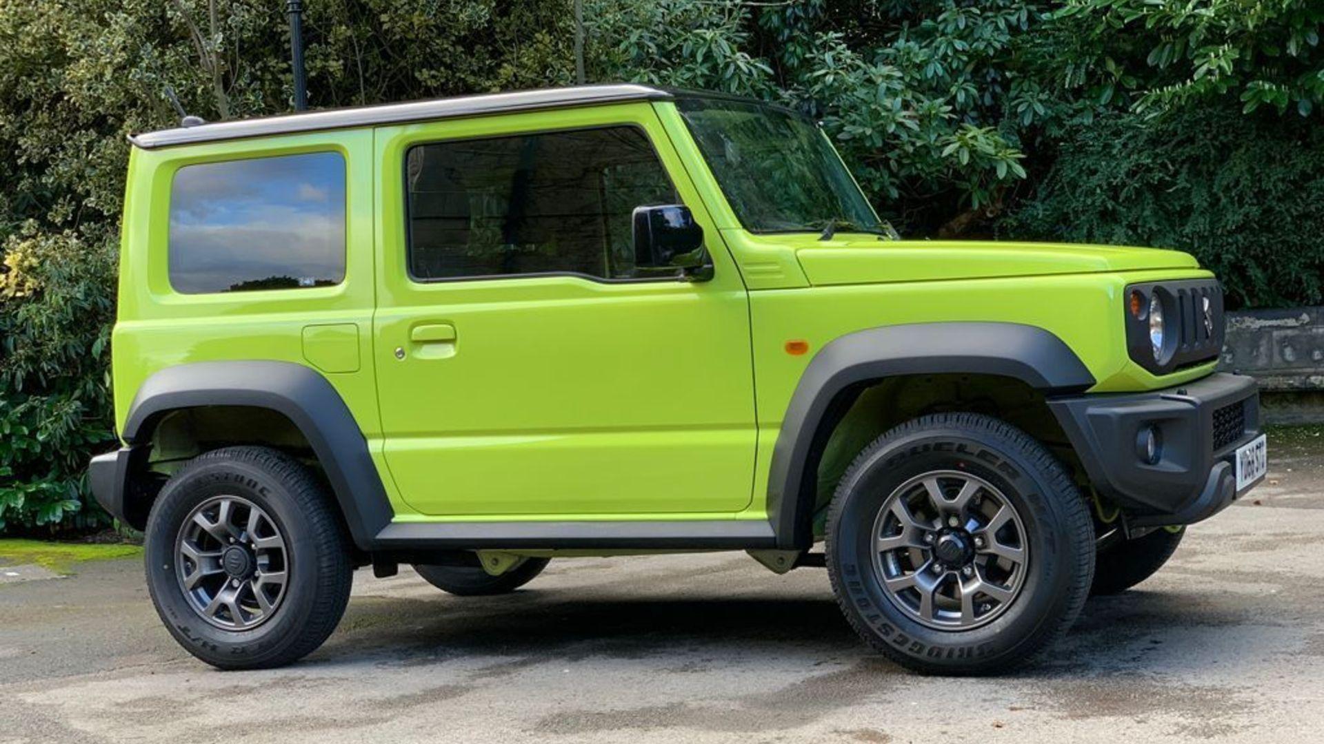 Suzuki Jimny mark-up