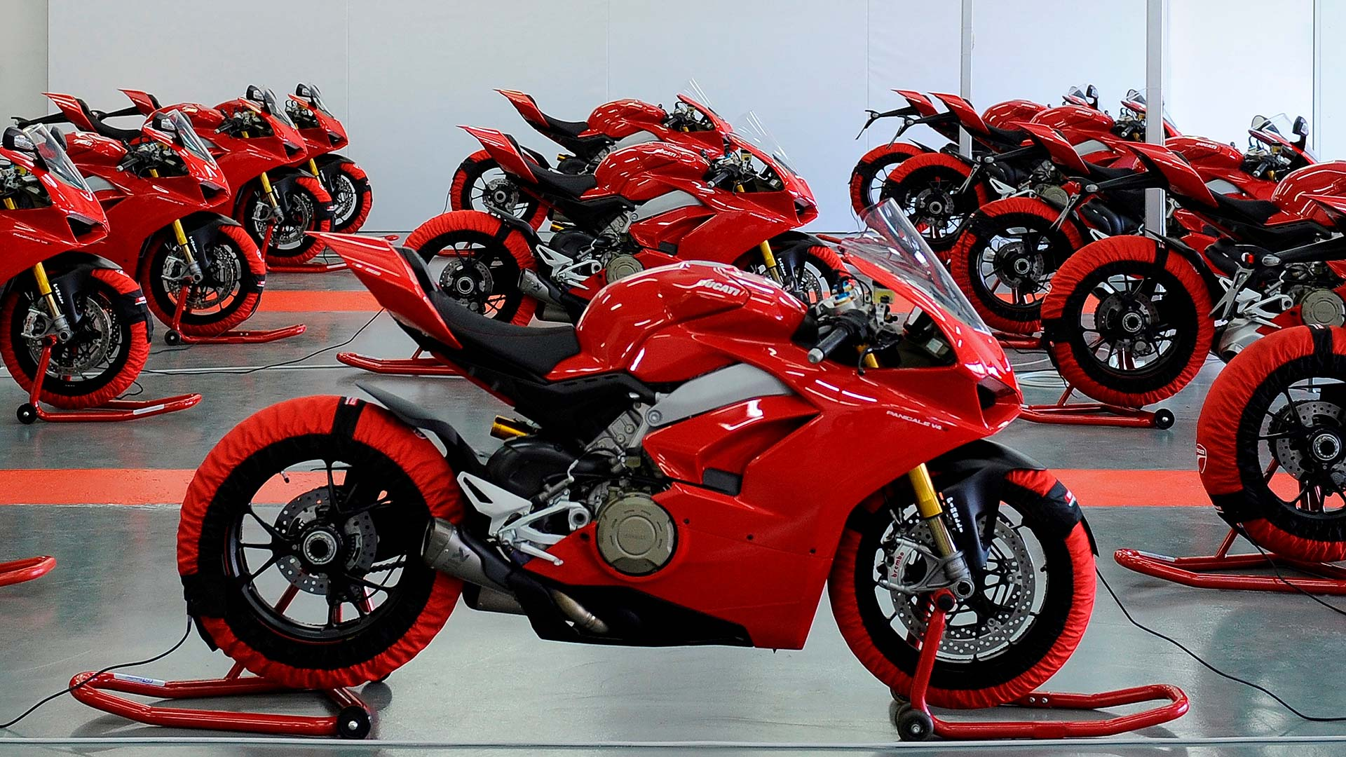 Ducati Panigale V4 press launch