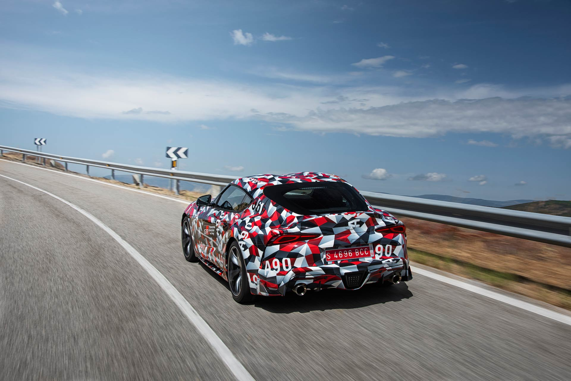 Bid To Win The First New A90 Toyota Supra Off The Line
