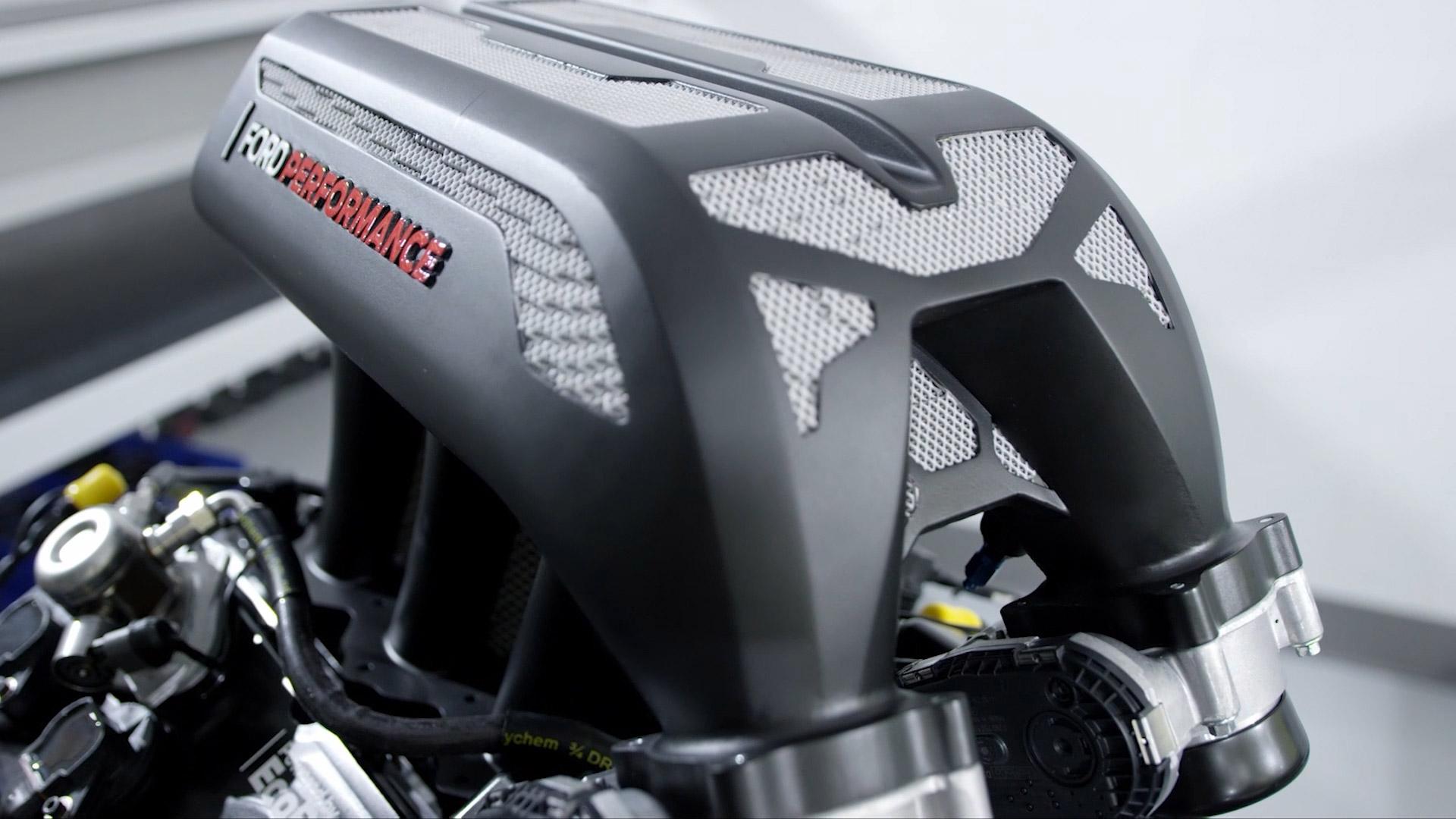 Ford Performance Hoonitruck 3D metal printed intake