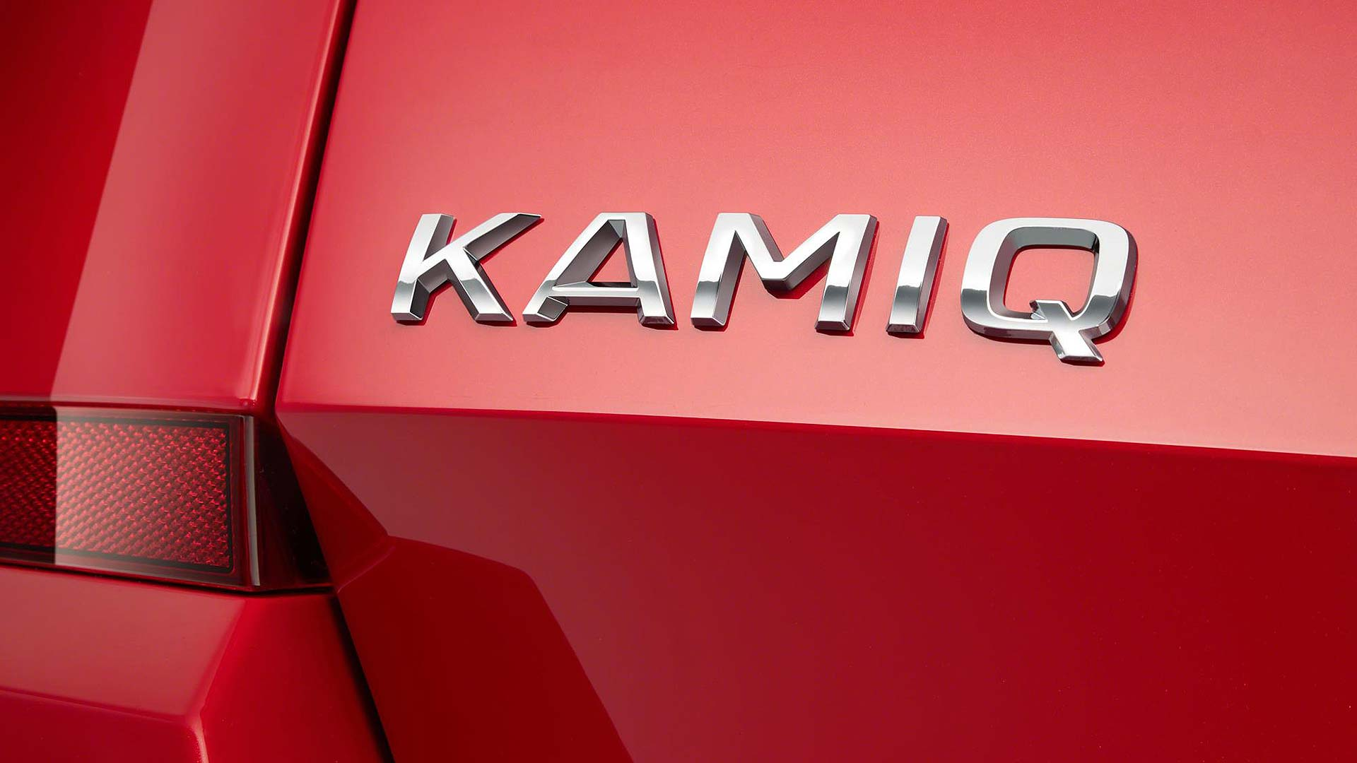 Skoda Kamiq badge