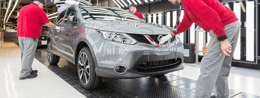 Nissan Qashqai built in Sunderland