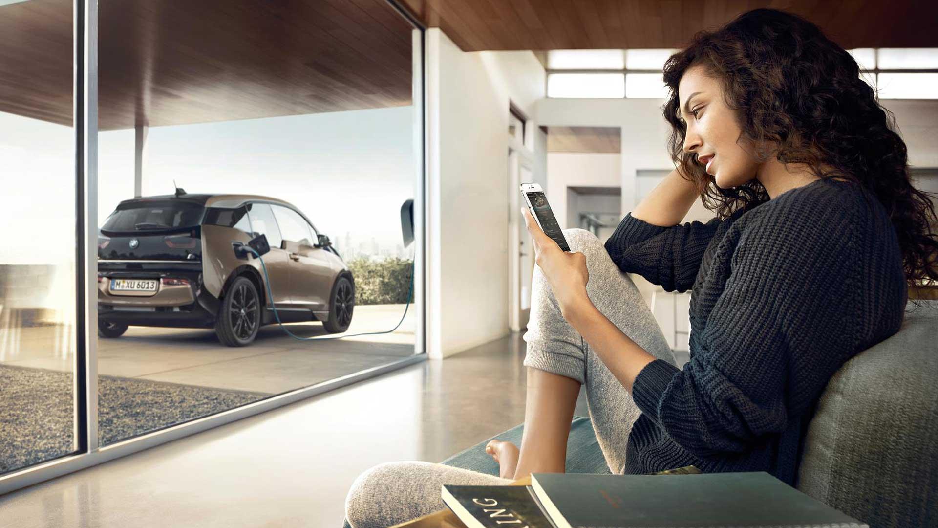 2018 BMW i3 charging