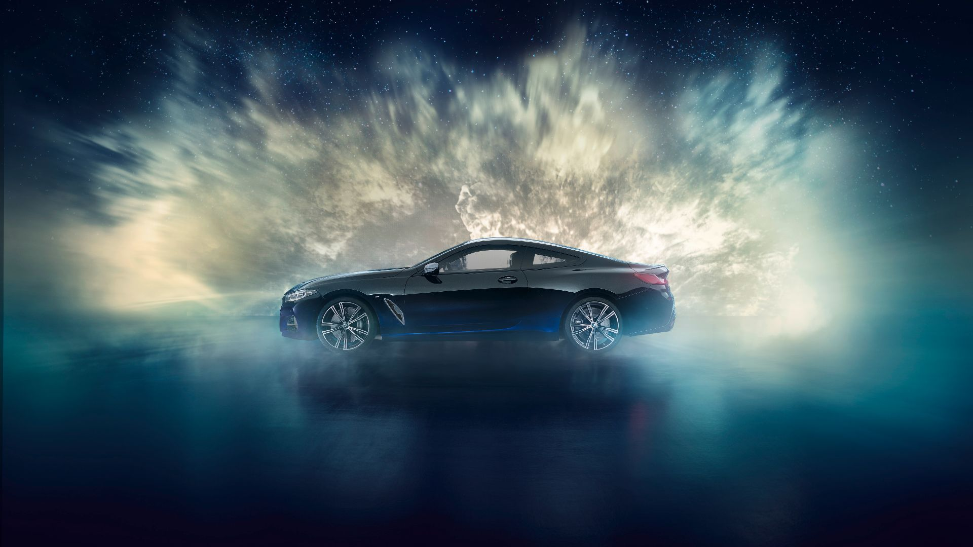 The Bmw M850i Night Sky Is Trimmed With Star Dust