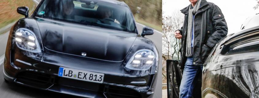 Porsche Taycan Walter Rohrl