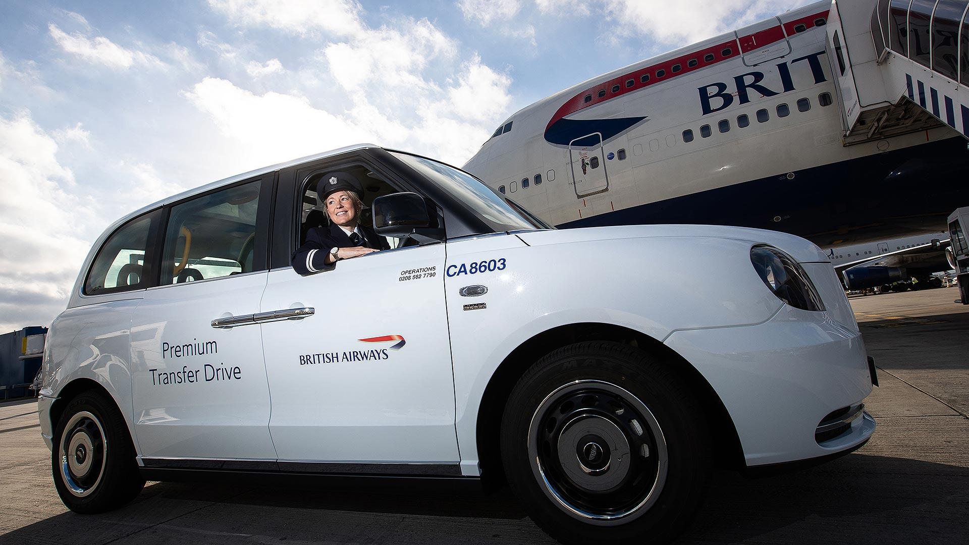 BA premium electric taxi service