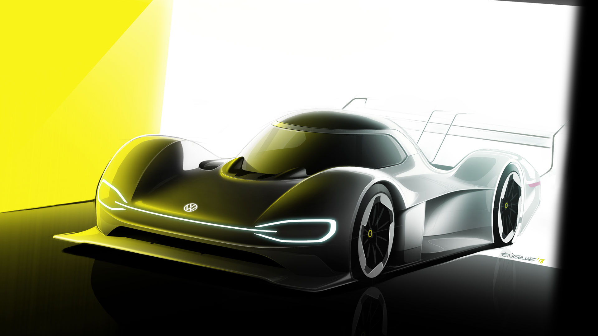 Volkswagen ID. R electric car