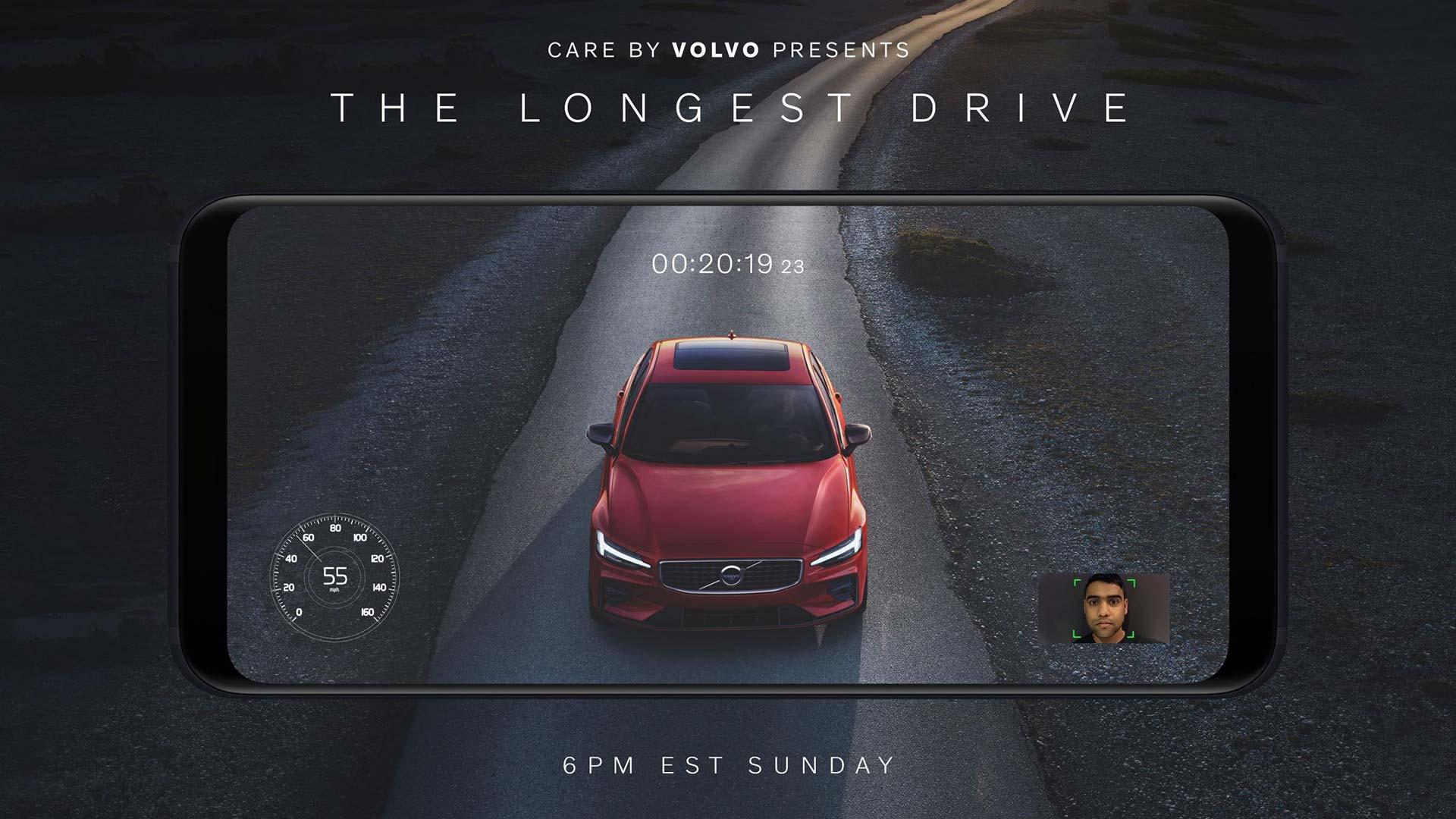 Win a 2019 Volvo S60 with Super Bowl stare off