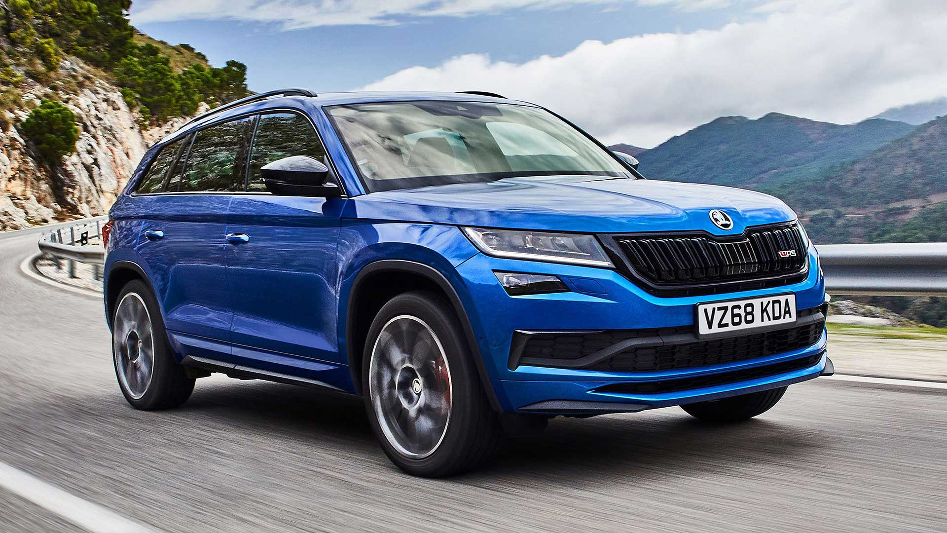 The New Skoda Kodiaq Vrs Costs Nearly 43 000 Motoring Research