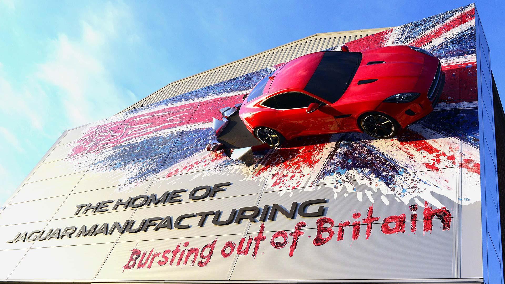 Jaguar F-Type Castle Bromwich wall art
