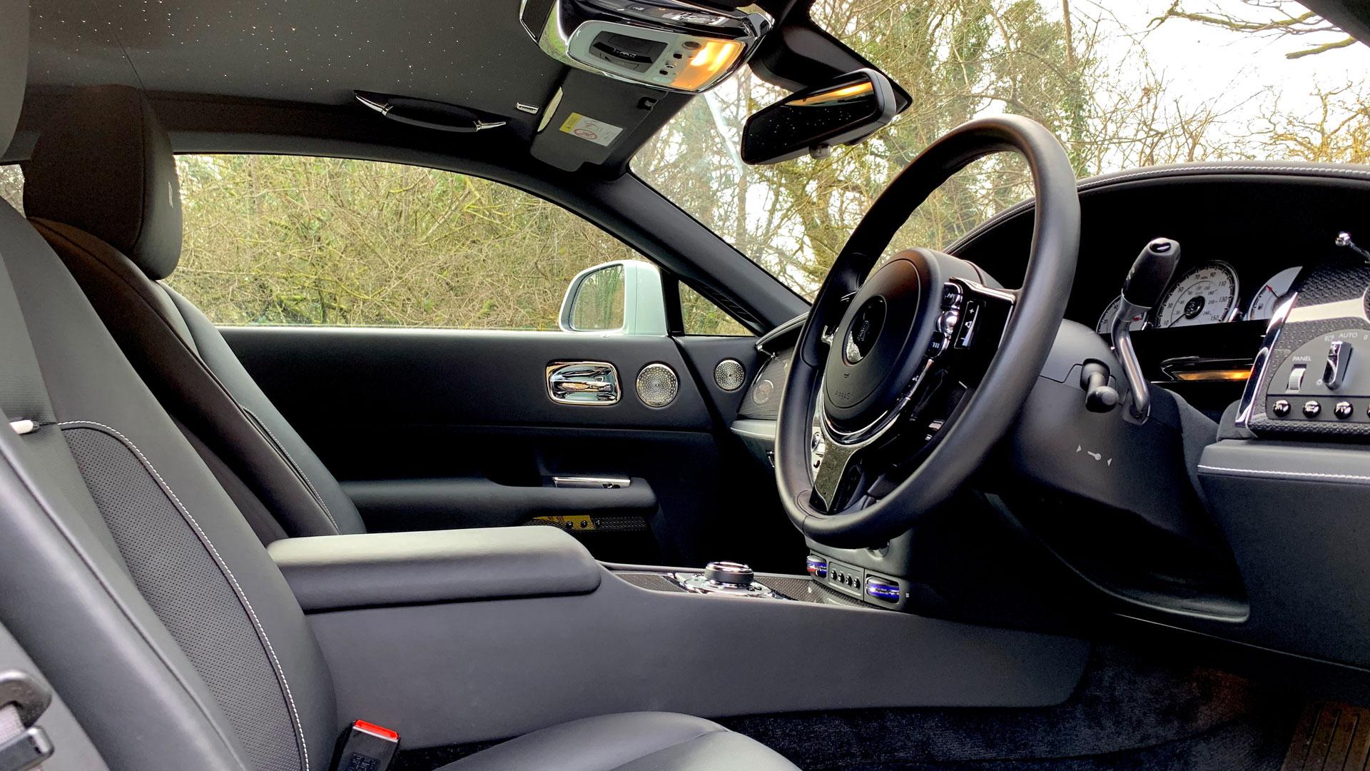 Rolls-Royce Wraith Black Badge interior
