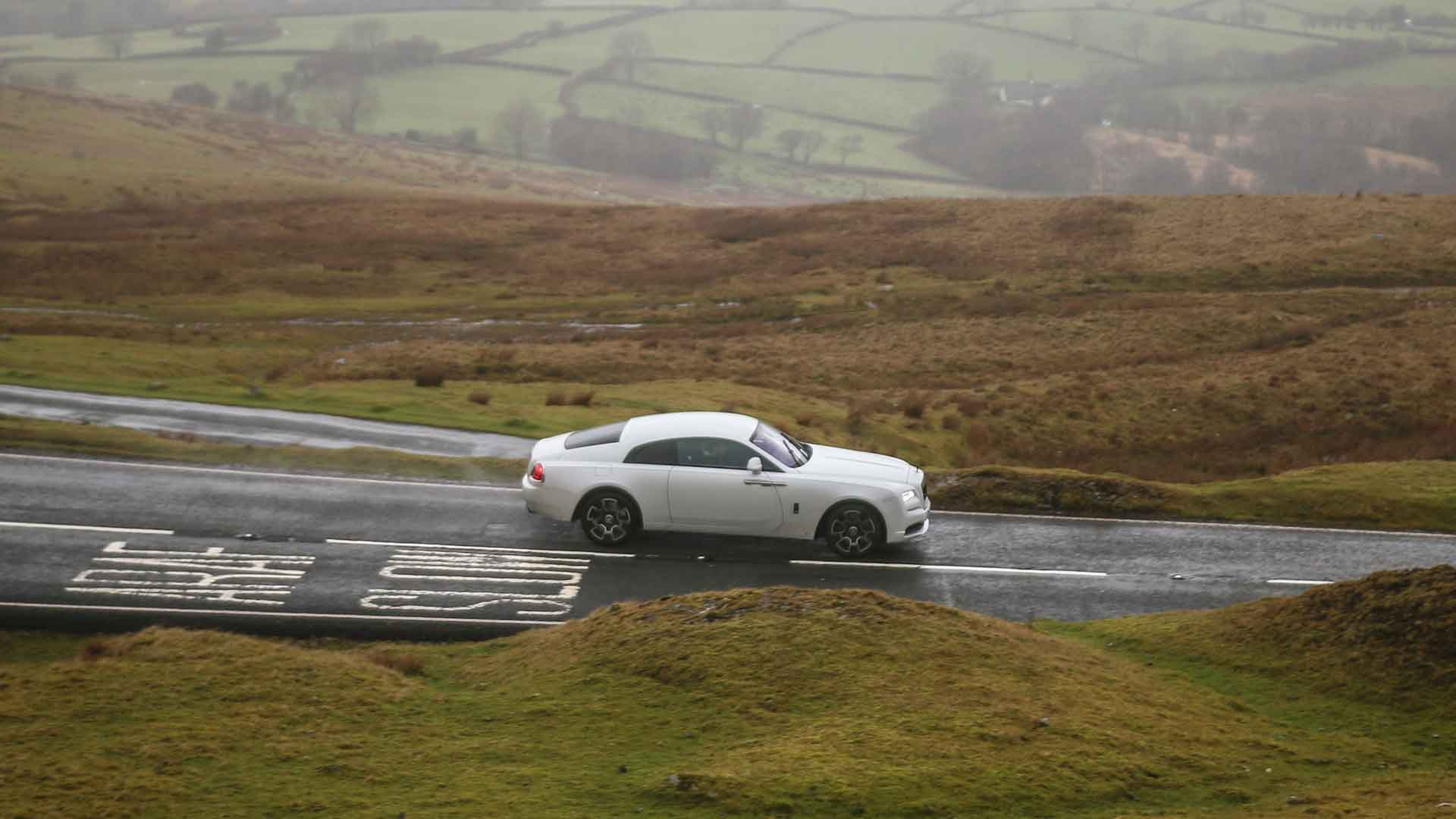 Rolls-Royce Wraith Black Badge in Wales