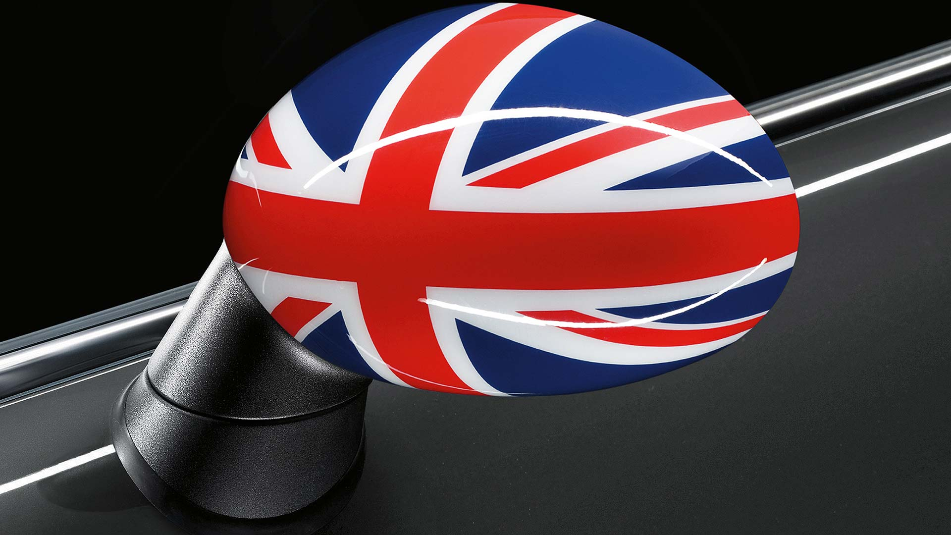 Union Flag Mini door mirror cap