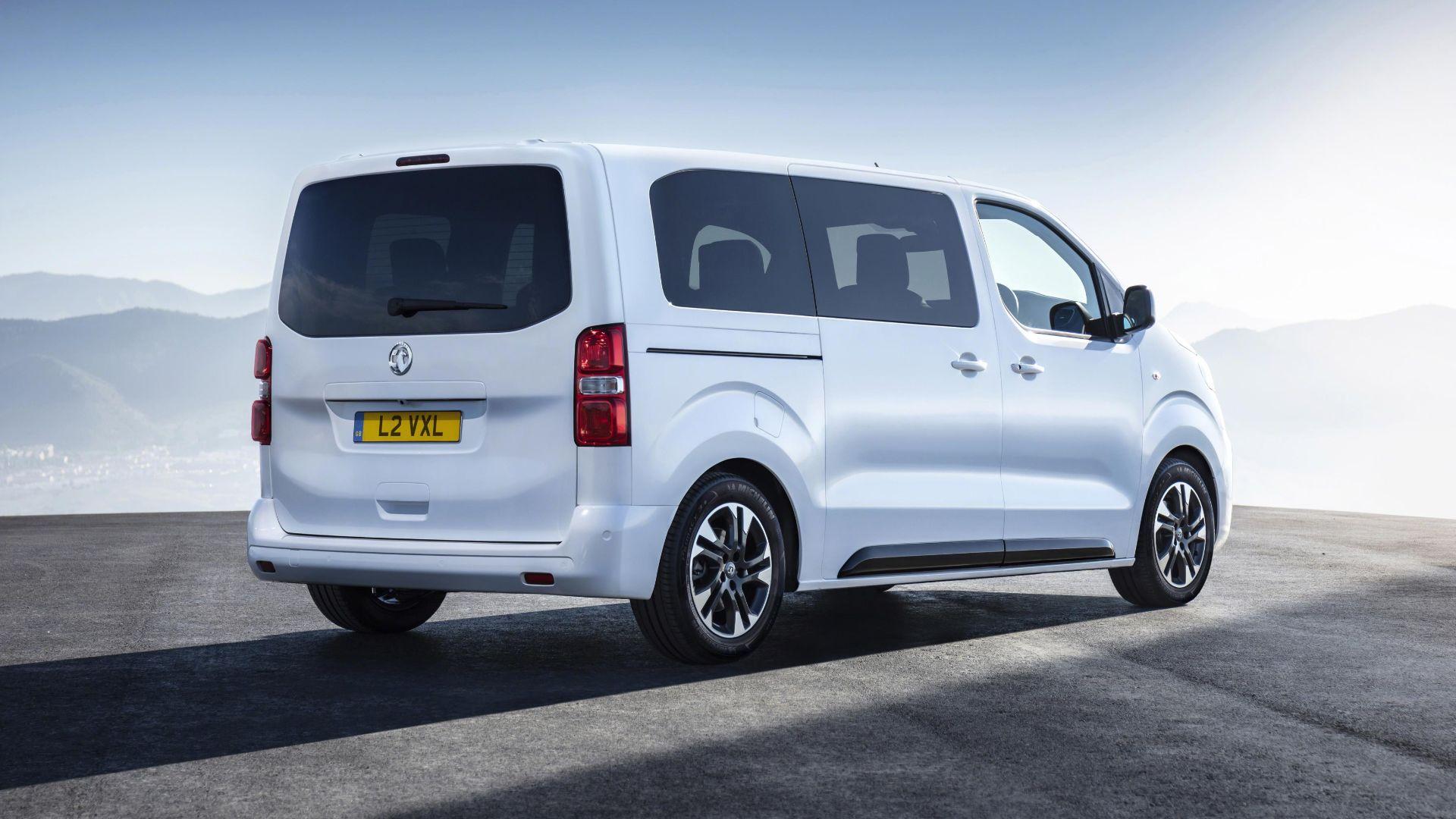 Vauxhall Vivaro Life £40,000 MPV