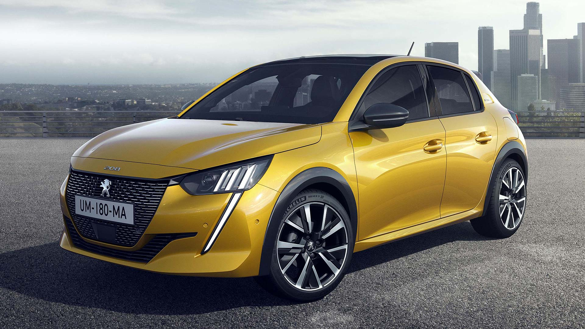 radical new peugeot 208 goes electric from launch. Black Bedroom Furniture Sets. Home Design Ideas