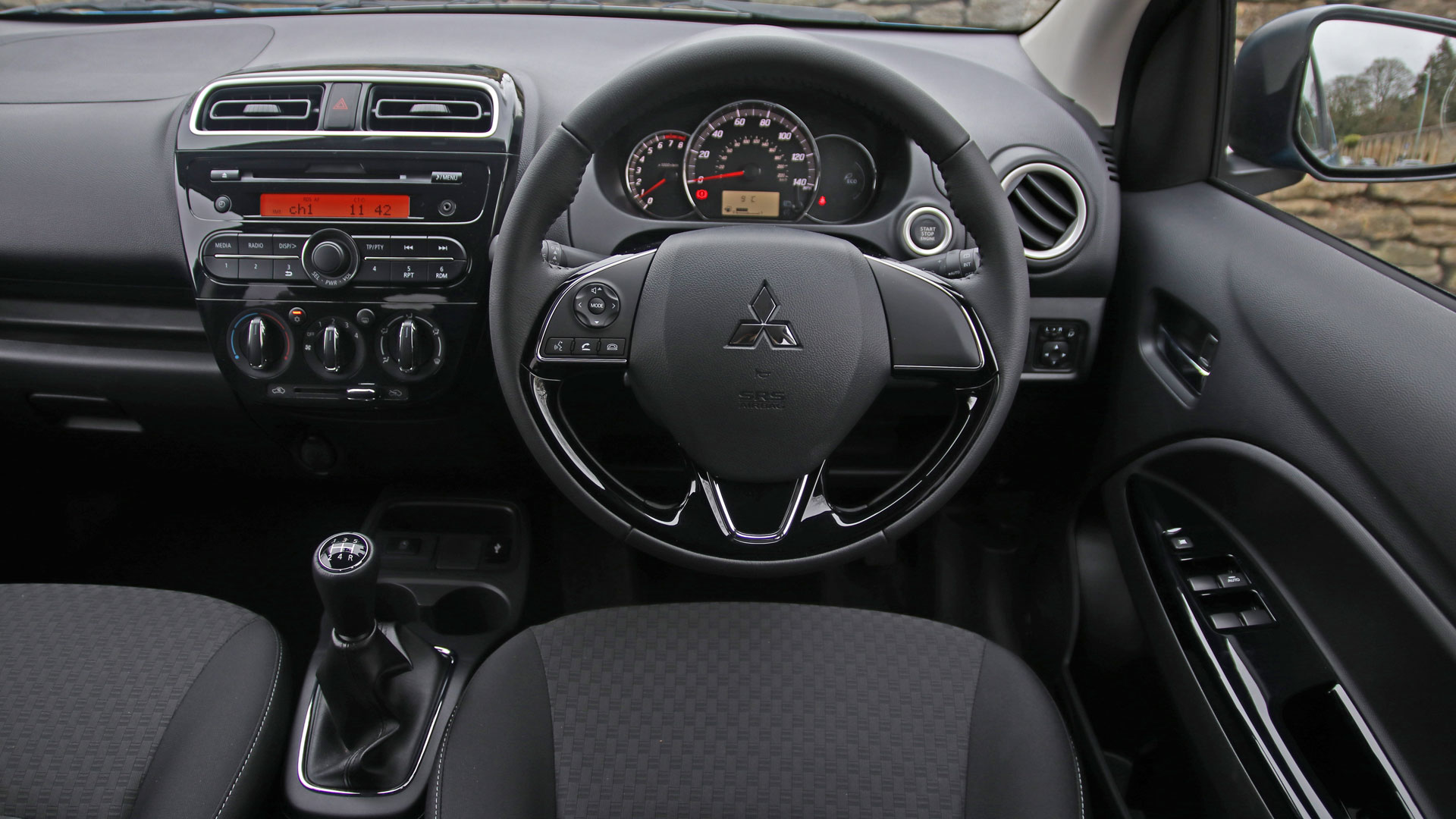 2019 Mitsubishi Mirage interior