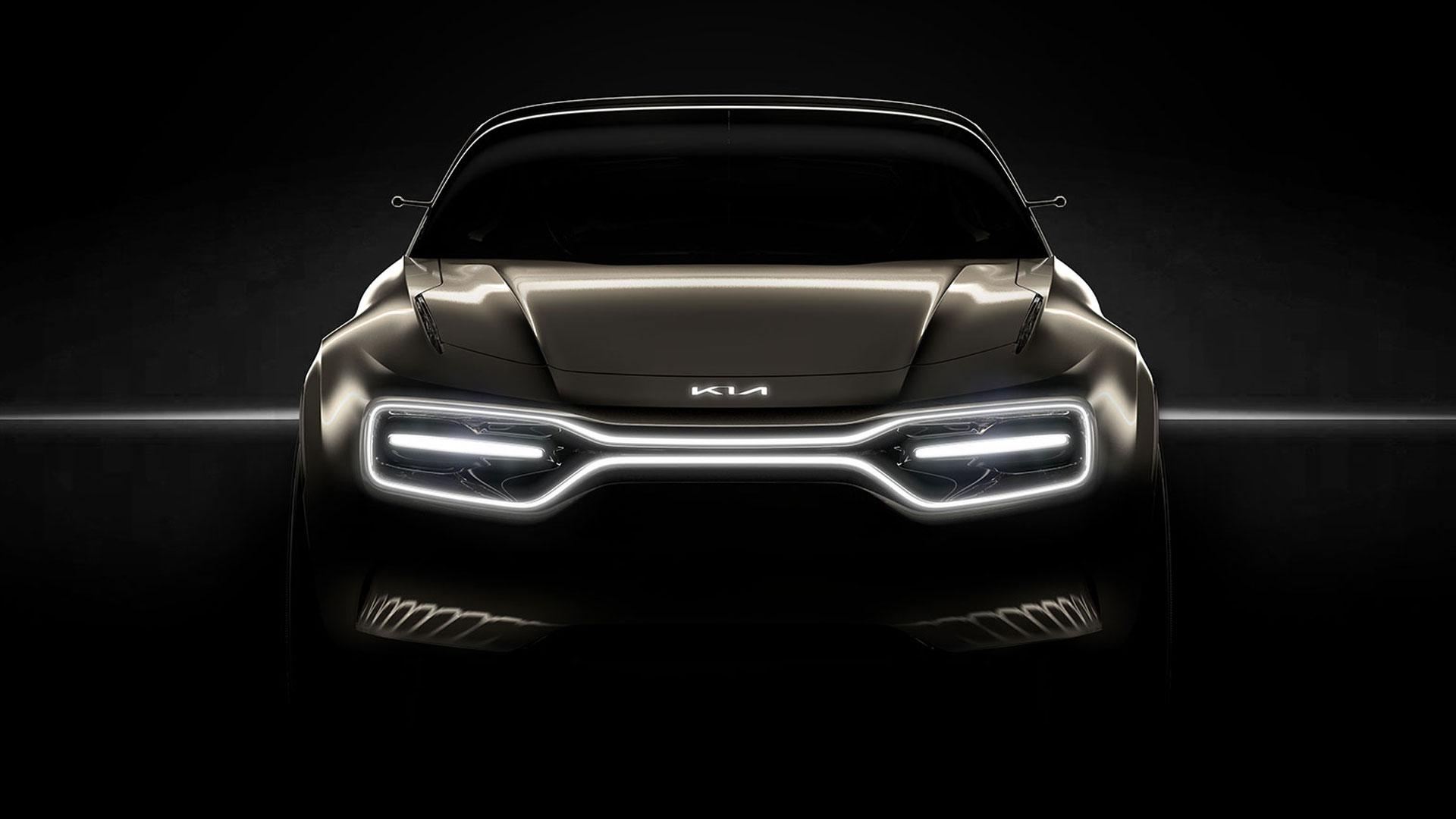 Kia electric sports car