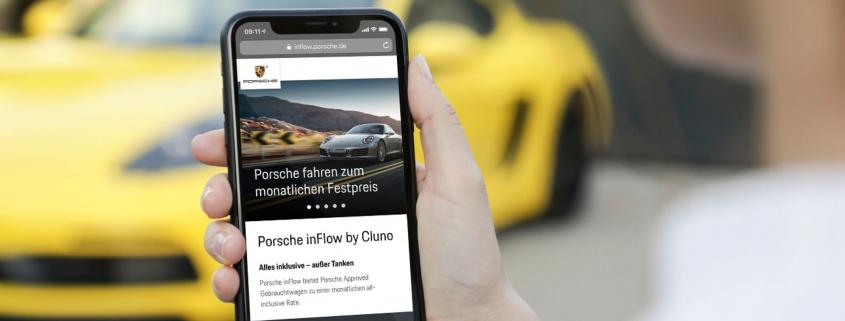 Buy a Porsche via an app