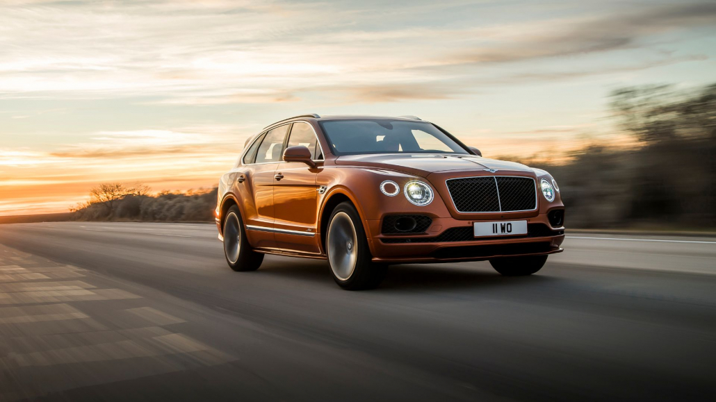 the 635hp bentley bentayga speed is the world s fastest suv. Black Bedroom Furniture Sets. Home Design Ideas
