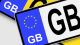 GB number plates no deal Brexit