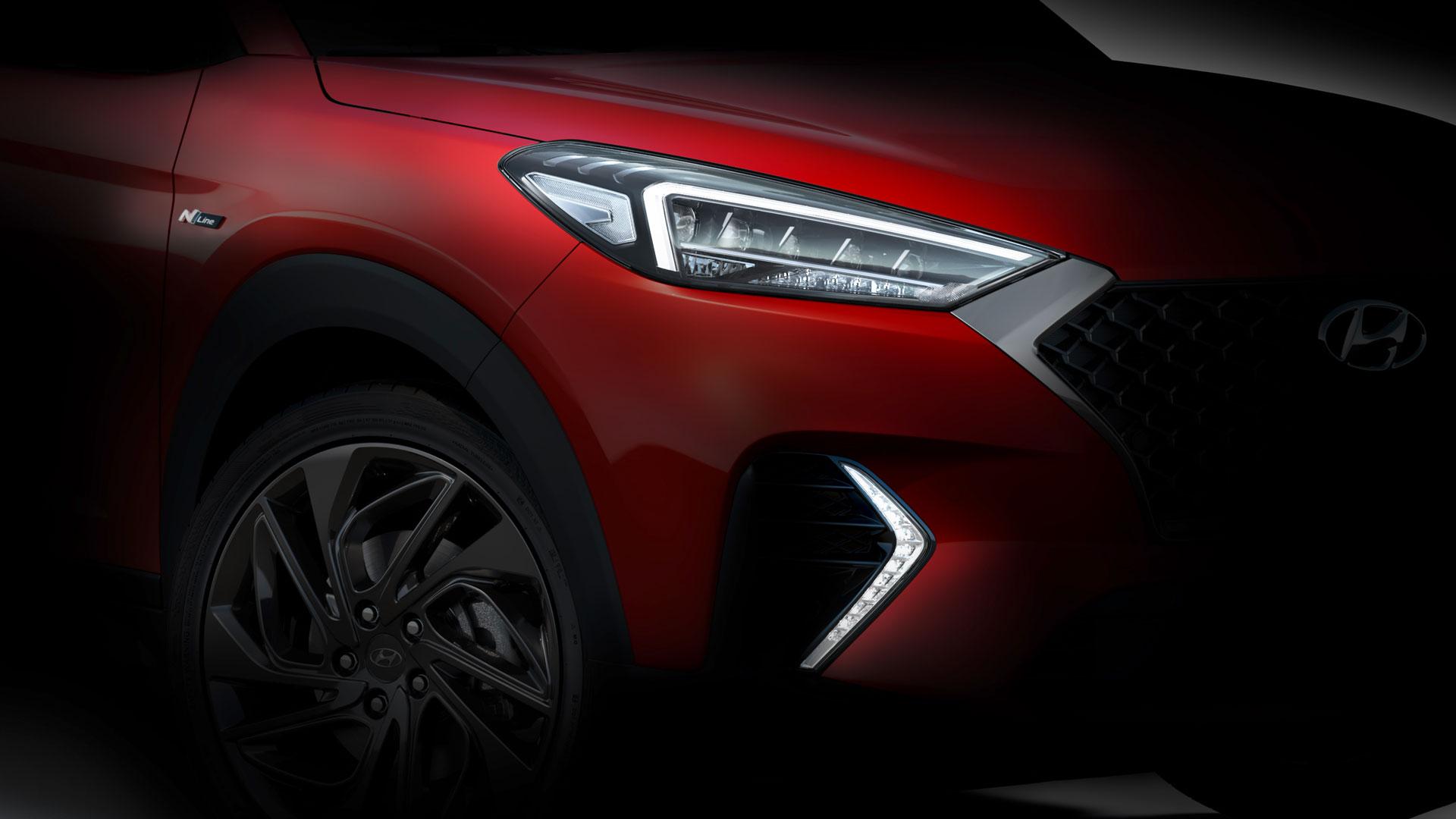 Hyundai Tuscon N-Line tease