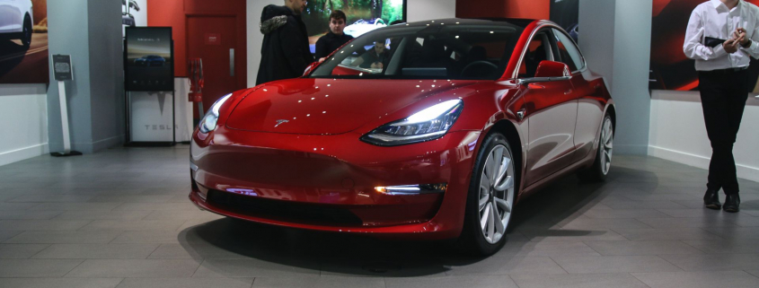 Electric car sales USA America Trump