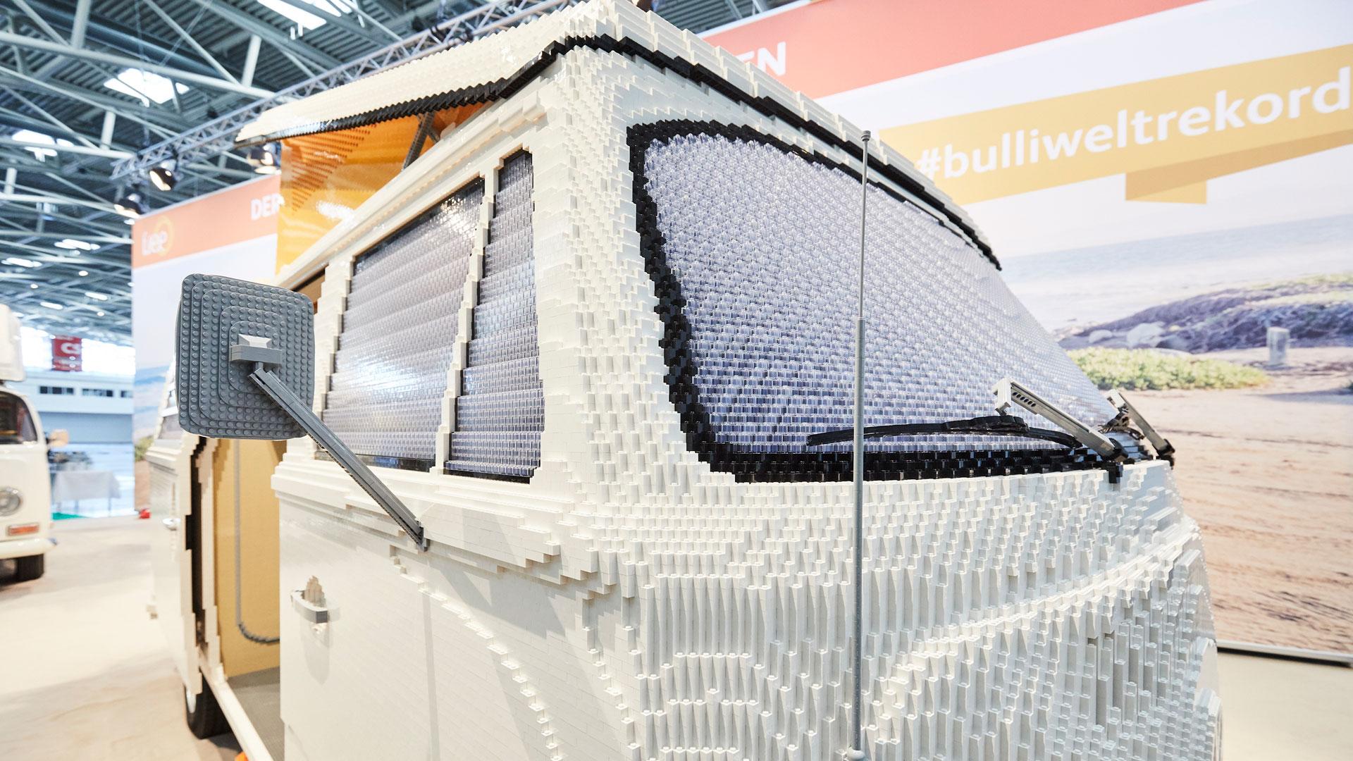 Lego T2 camper windscreen