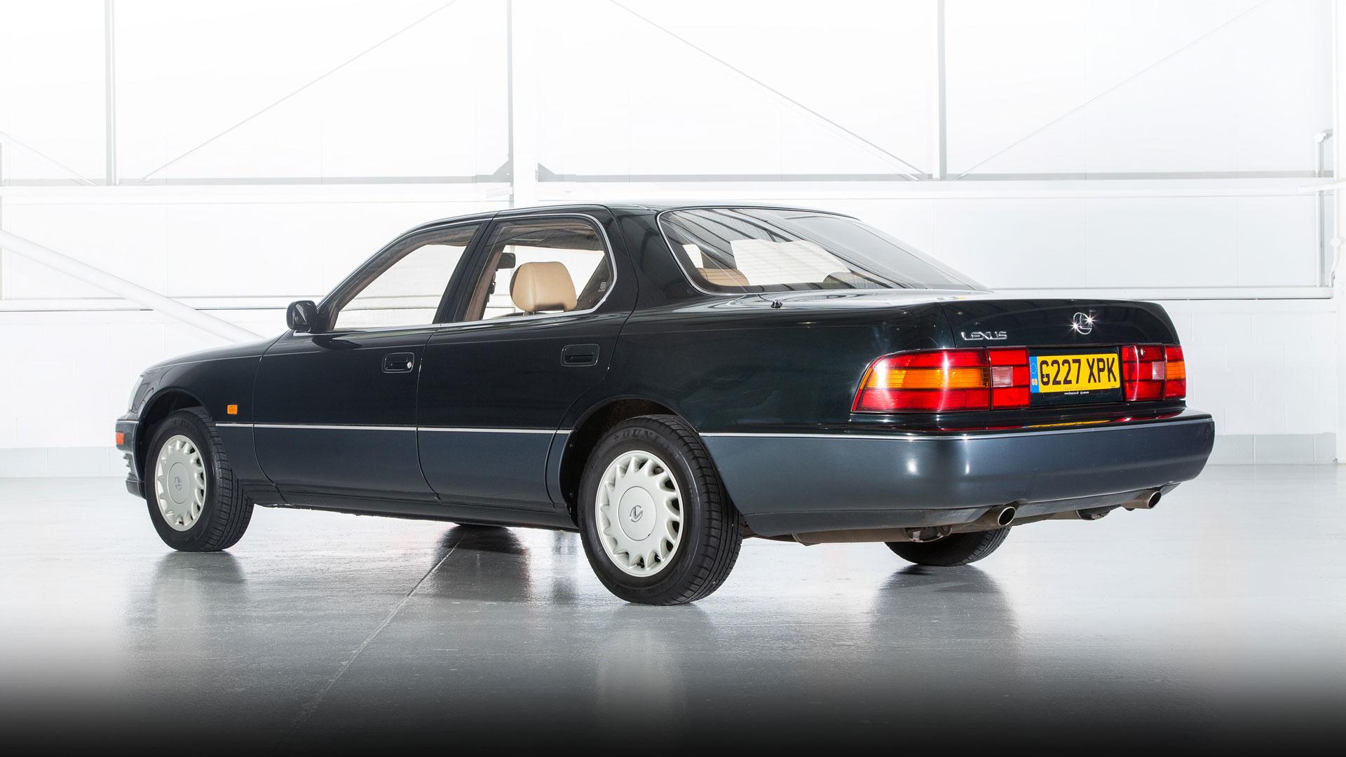Lexus LS 400 UK 1990