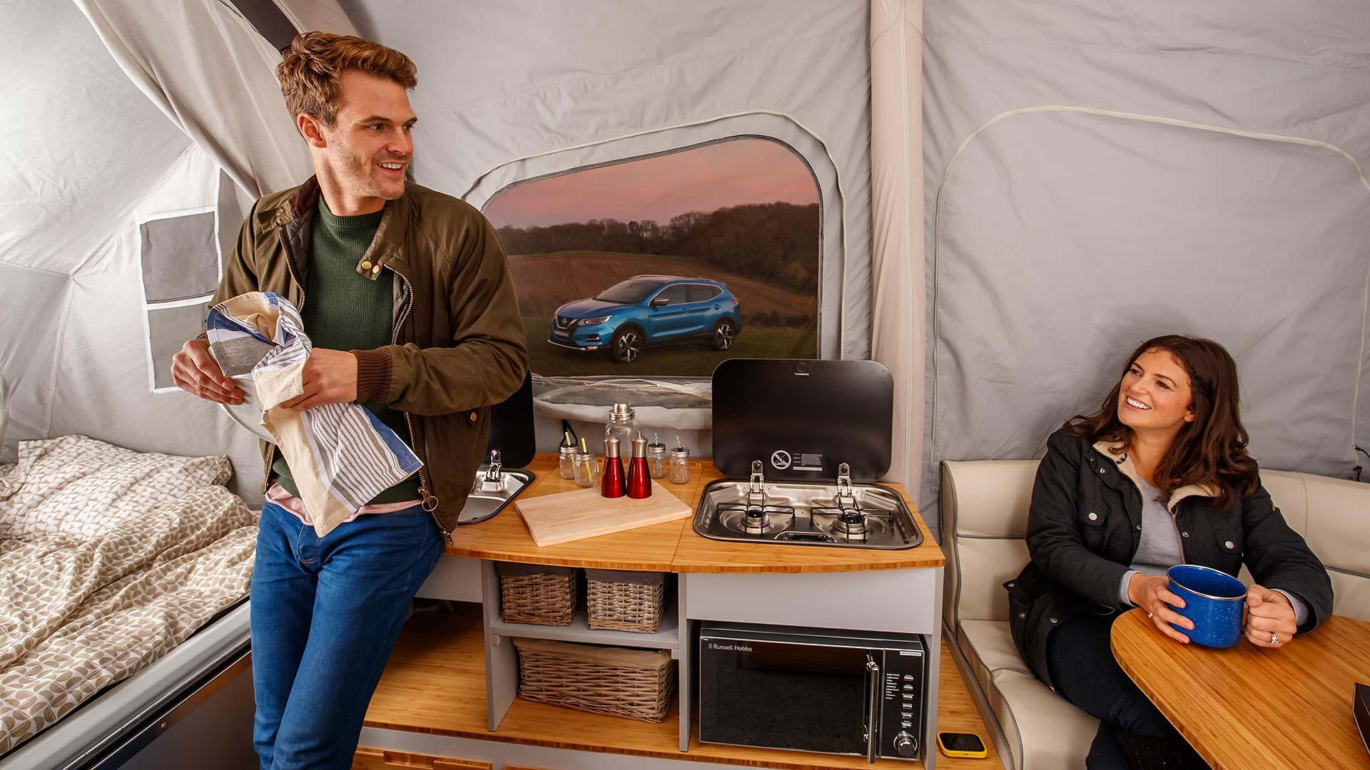 Nissan X Opus concept camper