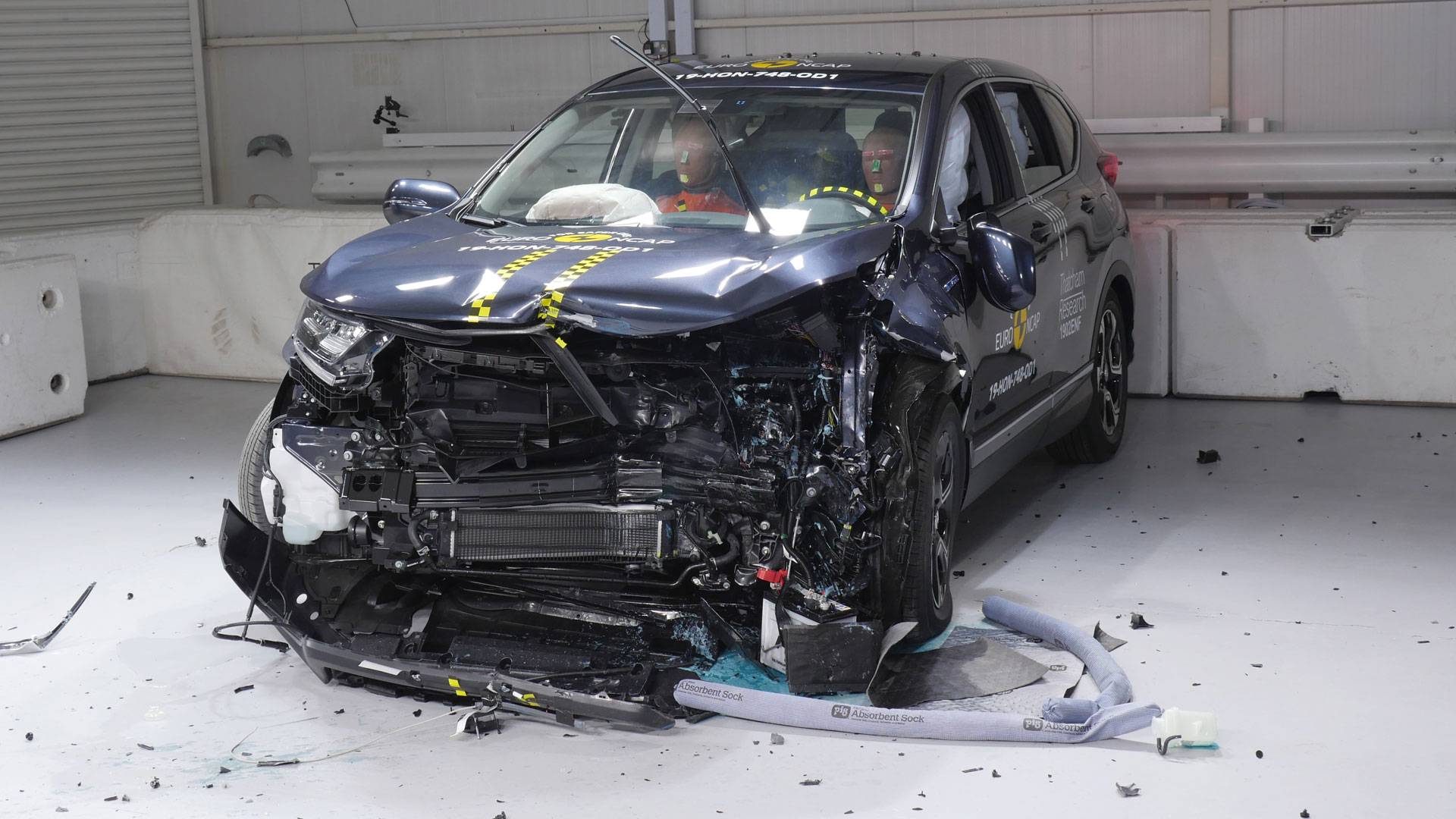 SEAT Tarraco crash test