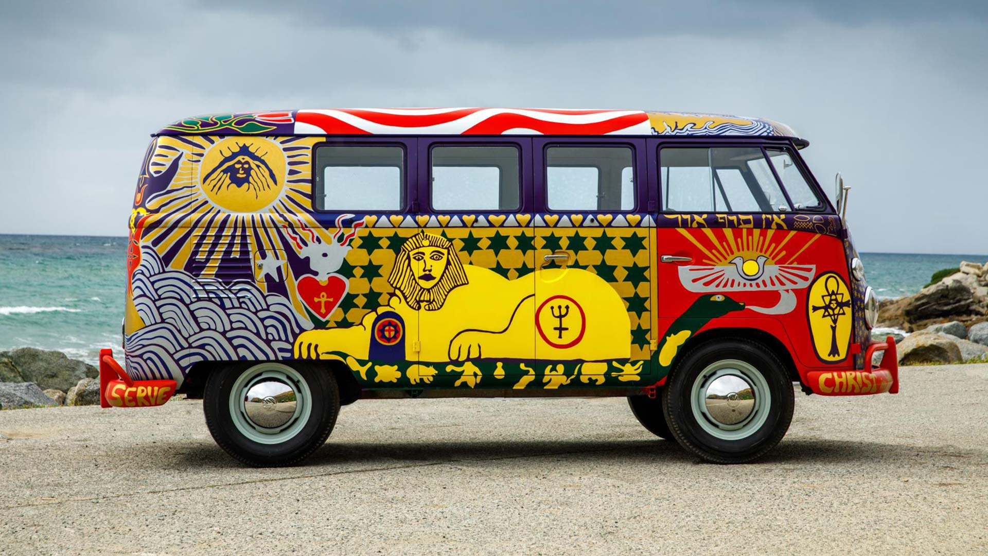 Volkswagen Woodstock Light Bus Recreation