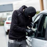 Vehicle crime rise UK
